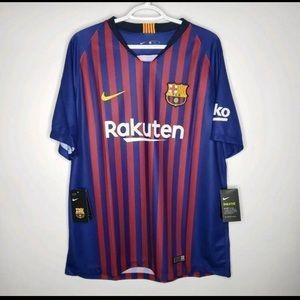 NEW Nike FC Barcelona 2018/19 Home Jersey NWT